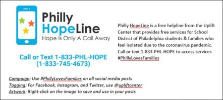 Philly Hope Line